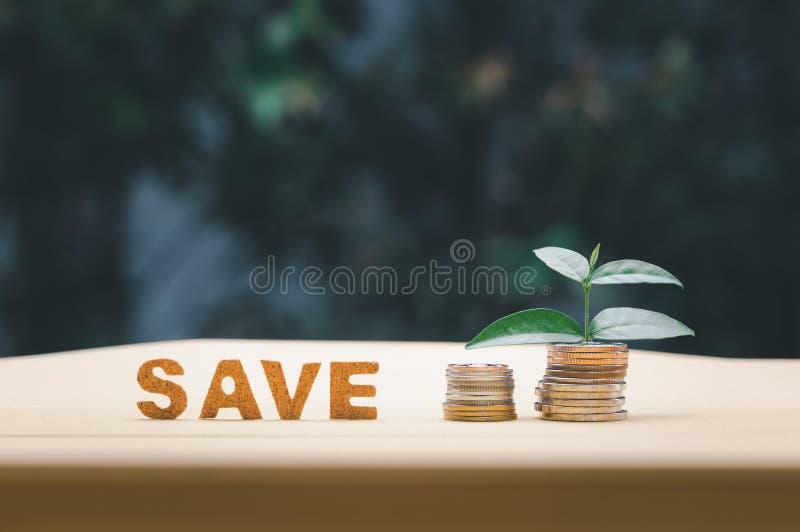 Έννοια της εξοικονόμησης χρημάτων στοκ εικόνες