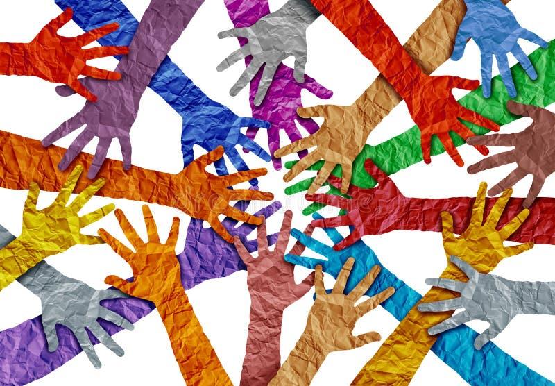Έννοια της ποικιλομορφίας ελεύθερη απεικόνιση δικαιώματος