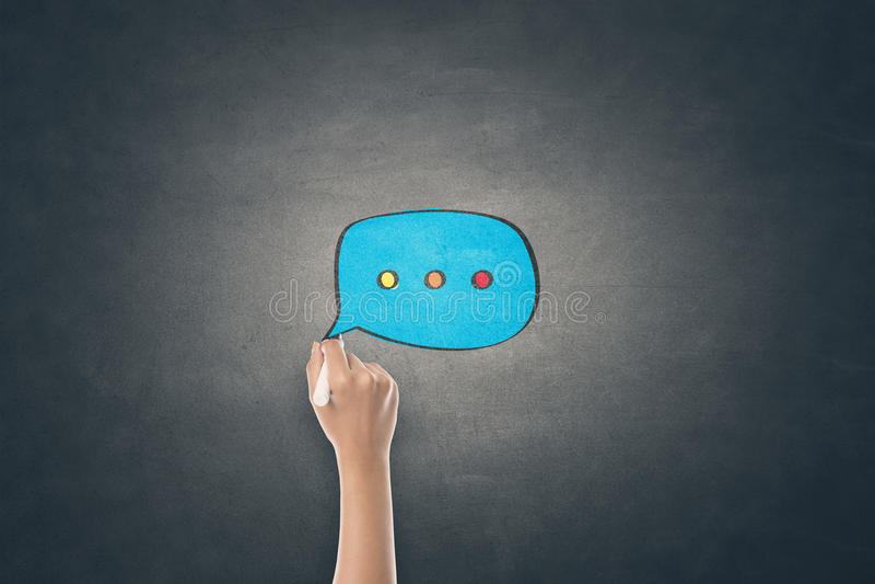 Έννοια της σε απευθείας σύνδεση επικοινωνίας στοκ φωτογραφία με δικαίωμα ελεύθερης χρήσης