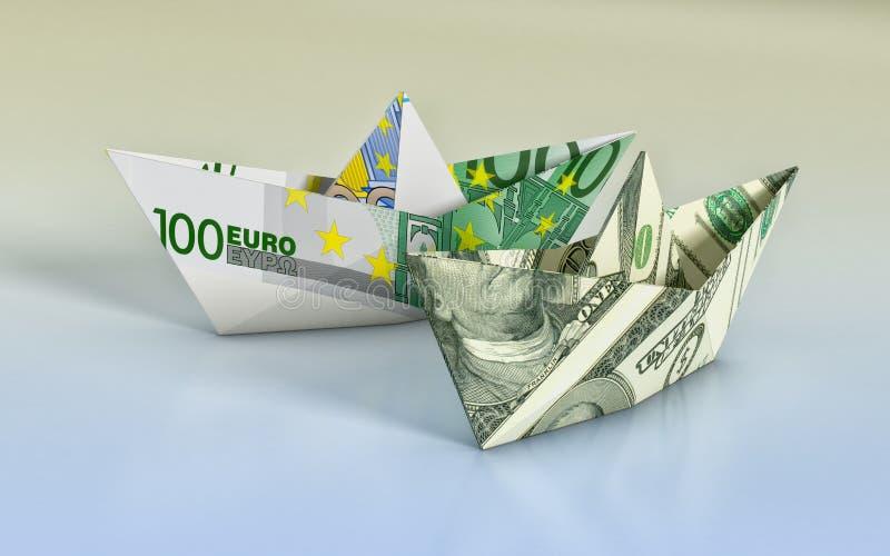 Έννοια της χρηματοδότησης διανυσματική απεικόνιση
