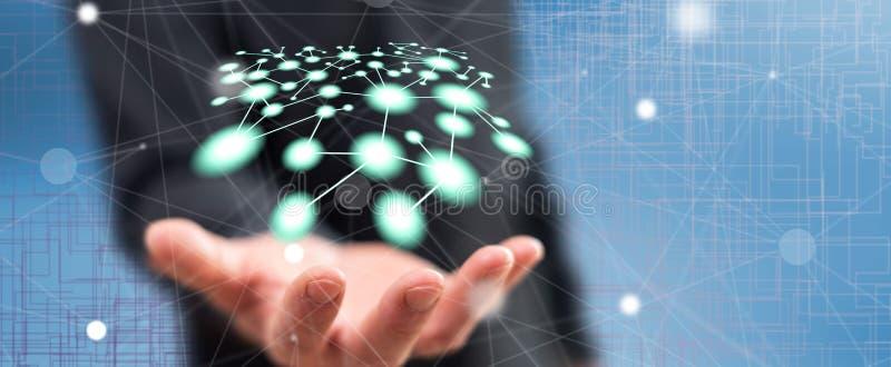 Έννοια του δικτύου στοκ φωτογραφία με δικαίωμα ελεύθερης χρήσης