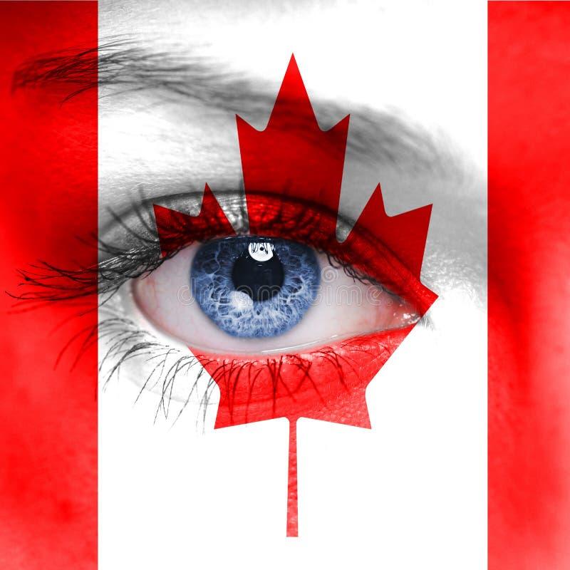 Έννοια του Καναδά στοκ φωτογραφία με δικαίωμα ελεύθερης χρήσης