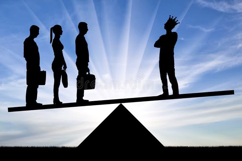 Έννοια του ομαδικού πνεύματος στην επιχείρηση και όχι τον εγωισμό στοκ φωτογραφία