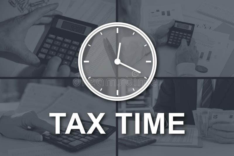 Έννοια του φορολογικού χρόνου στοκ φωτογραφία με δικαίωμα ελεύθερης χρήσης