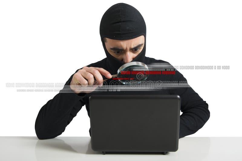 Χάκερ στοκ εικόνα με δικαίωμα ελεύθερης χρήσης