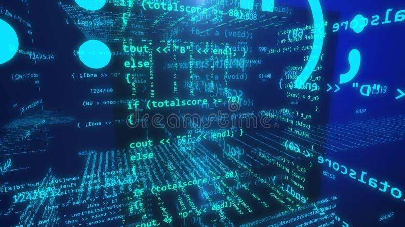 Έννοια του Open Source ελεύθερη απεικόνιση δικαιώματος