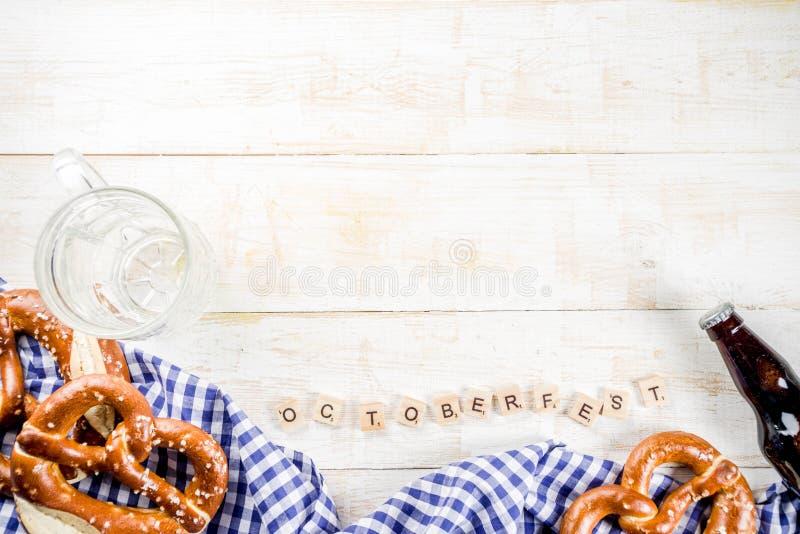 Έννοια τροφίμων Oktoberfest στοκ εικόνα