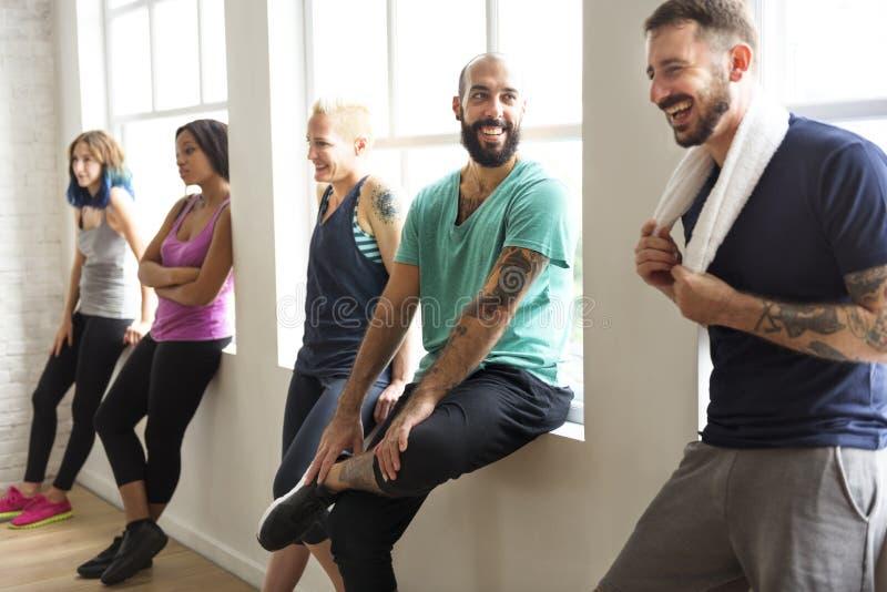 Έννοια υγείας ικανότητας άσκησης Workout στοκ εικόνες