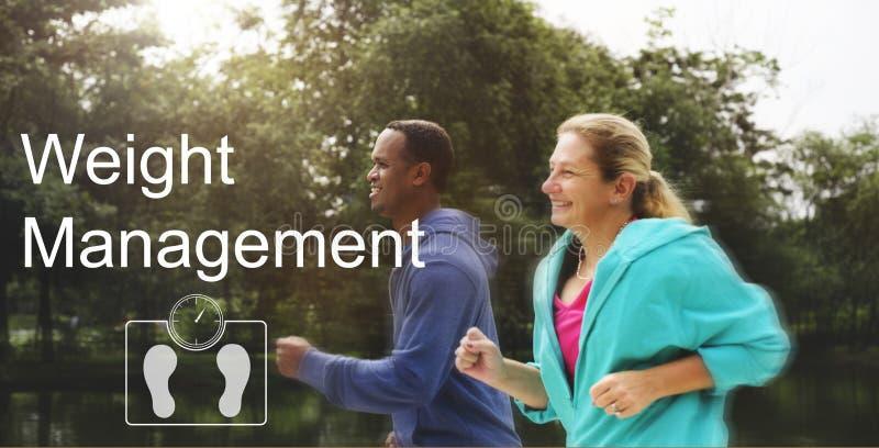Έννοια υγειονομικής περίθαλψης ικανότητας διοικητικής άσκησης βάρους στοκ εικόνες