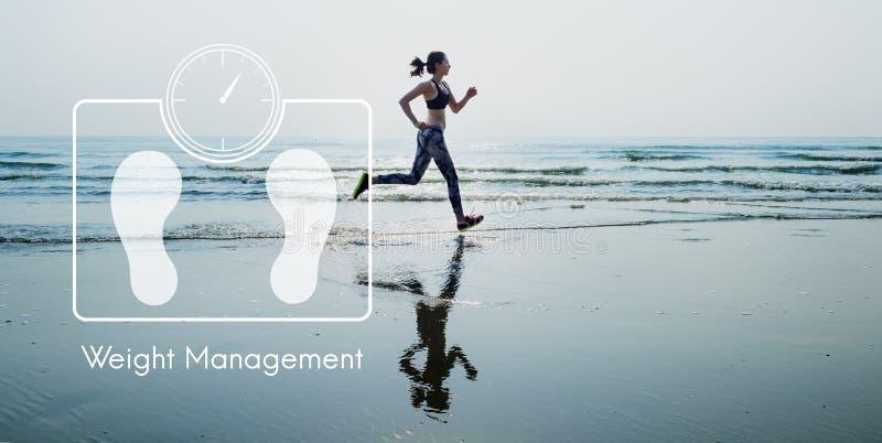 Έννοια υγειονομικής περίθαλψης ικανότητας διοικητικής άσκησης βάρους στοκ εικόνα
