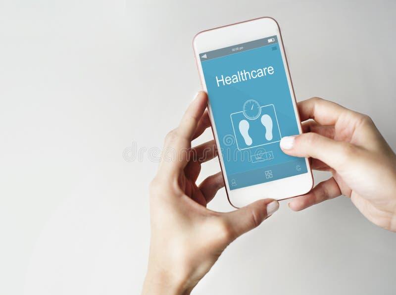 Έννοια υγειονομικής περίθαλψης ικανότητας διοικητικής άσκησης βάρους στοκ εικόνες με δικαίωμα ελεύθερης χρήσης