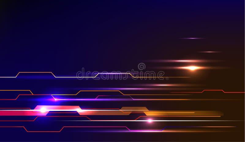 Έννοια υποβάθρου σχεδίου σχεδίων μετακίνησης ταχύτητας απεικόνιση αποθεμάτων