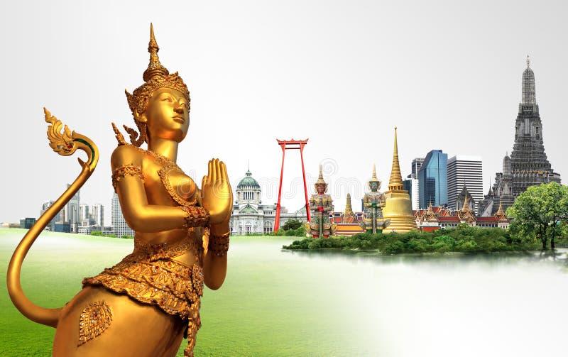 Έννοια ταξιδιού της Ταϊλάνδης στοκ φωτογραφία με δικαίωμα ελεύθερης χρήσης