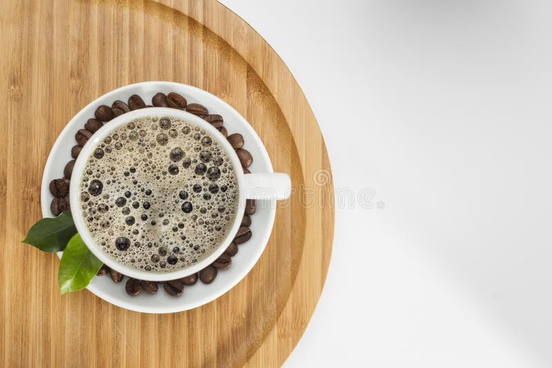 Έννοια φλυτζανιών καφέ στοκ εικόνες