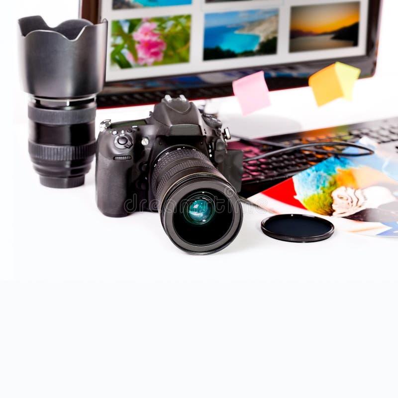 Έννοια φωτογραφίας. στοκ εικόνες