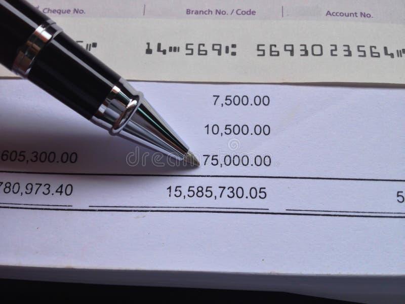 Έννοια χρηματοδότησης και λογιστικής στοκ φωτογραφία με δικαίωμα ελεύθερης χρήσης