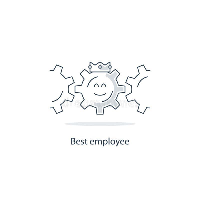 Έννοια όρων απασχόλησης απεικόνιση αποθεμάτων