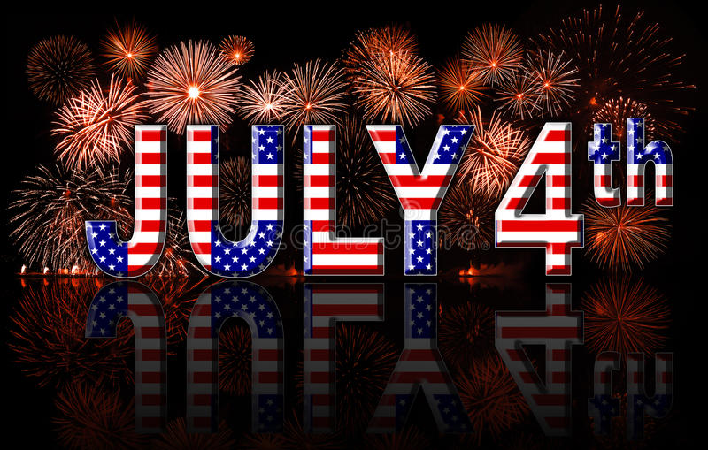 Έννοια 4η Ιουλίου ημέρας της ανεξαρτησίας