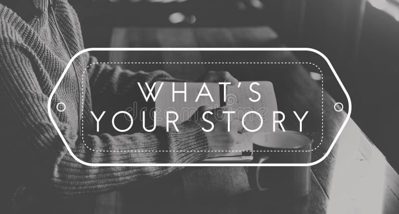 Έννοια Blog πληροφοριών σημειώσεων γραψίματος περιοδικών ελεύθερη απεικόνιση δικαιώματος
