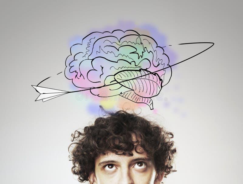 Έννοια 'brainstorming' στοκ εικόνα με δικαίωμα ελεύθερης χρήσης