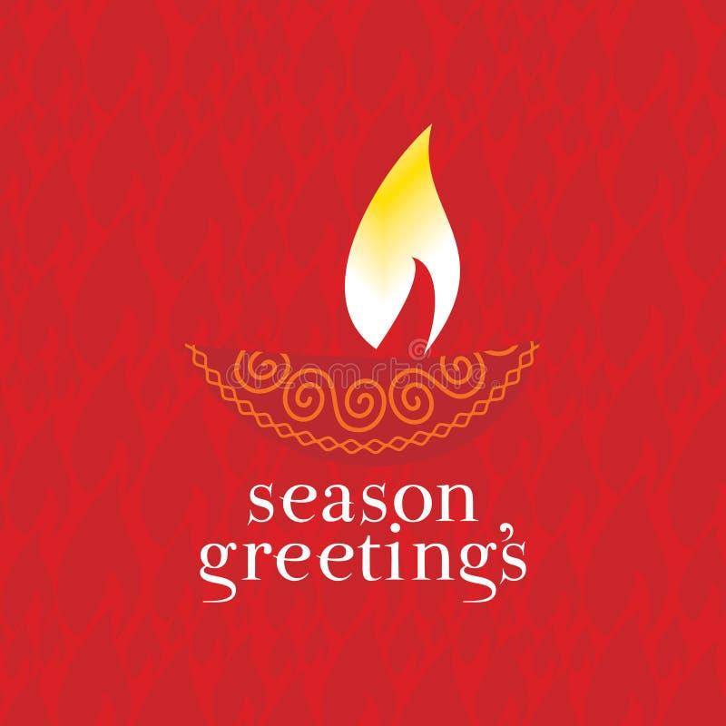 Έννοια Diwali διανυσματική απεικόνιση