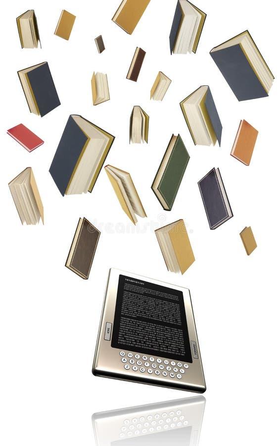 έννοια ebook που στοκ εικόνα με δικαίωμα ελεύθερης χρήσης