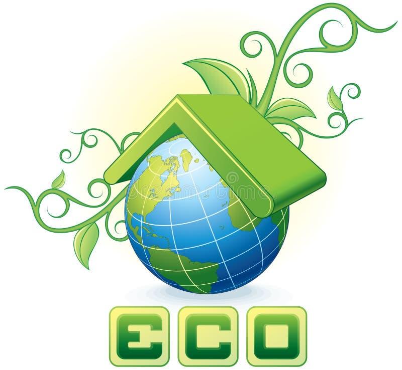 Έννοια Eco στοκ εικόνες