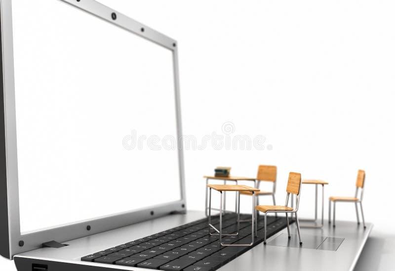 έννοια webinar διανυσματική απεικόνιση