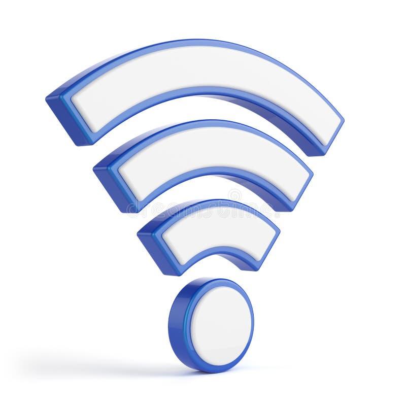 Έννοια WI-Fi απεικόνιση αποθεμάτων
