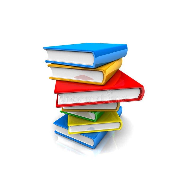 Έννοιες βιβλίων διανυσματική απεικόνιση