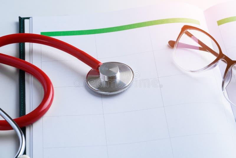 Έννοιες διορισμών γιατρών στοκ φωτογραφία