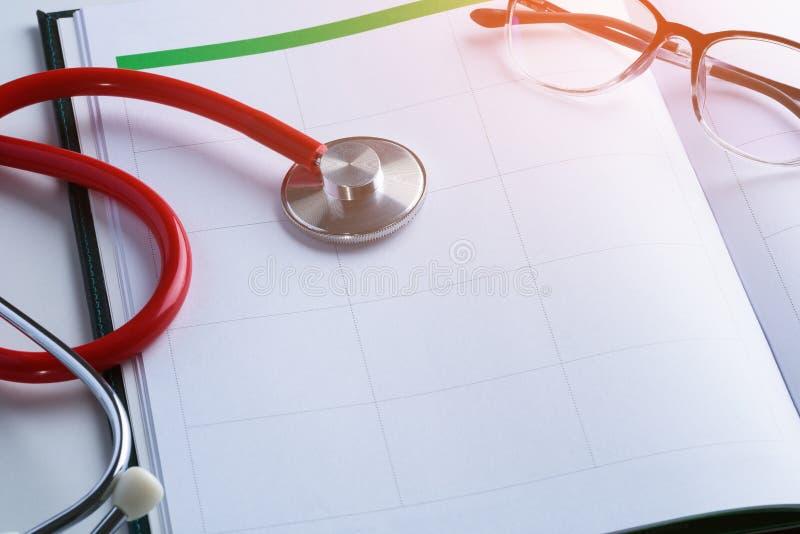 Έννοιες διορισμών γιατρών στοκ εικόνα