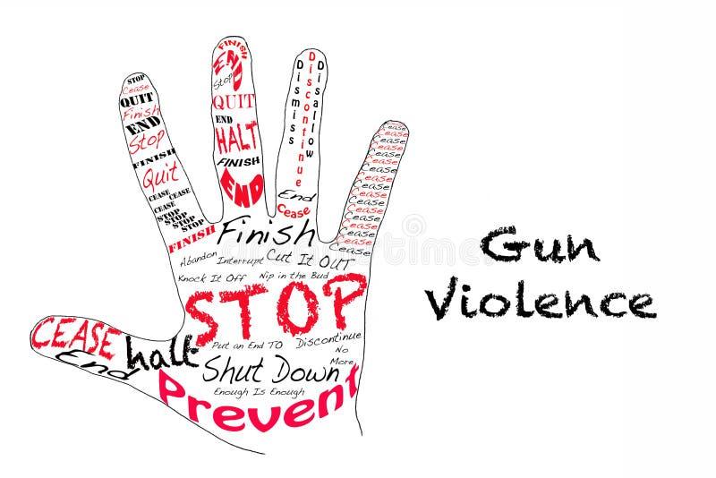 Ένοπλη βία στάσεων ελεύθερη απεικόνιση δικαιώματος