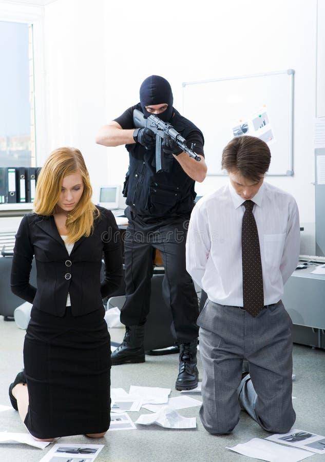 ένοπλη επίθεση στοκ φωτογραφία με δικαίωμα ελεύθερης χρήσης