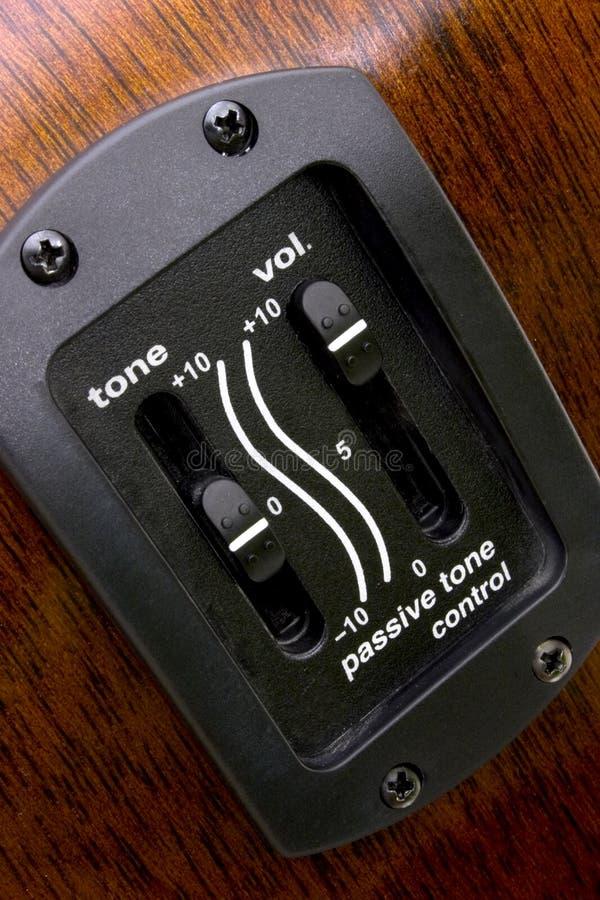 ένταση του ήχου ελέγχου στοκ εικόνες