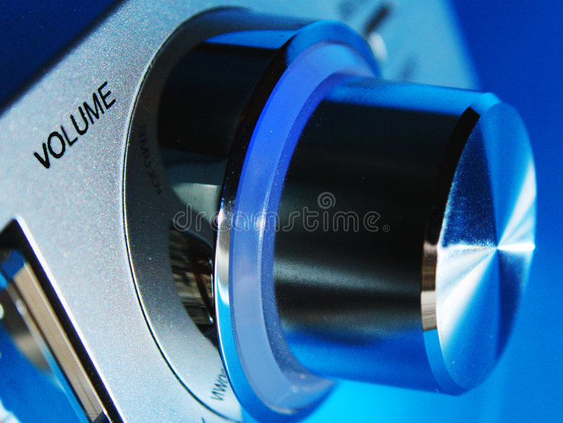 ένταση του ήχου εξογκωμά&ta στοκ φωτογραφίες με δικαίωμα ελεύθερης χρήσης