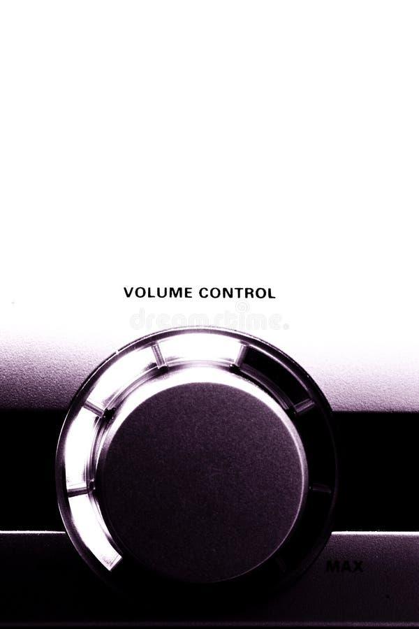 ένταση του ήχου στοκ φωτογραφία