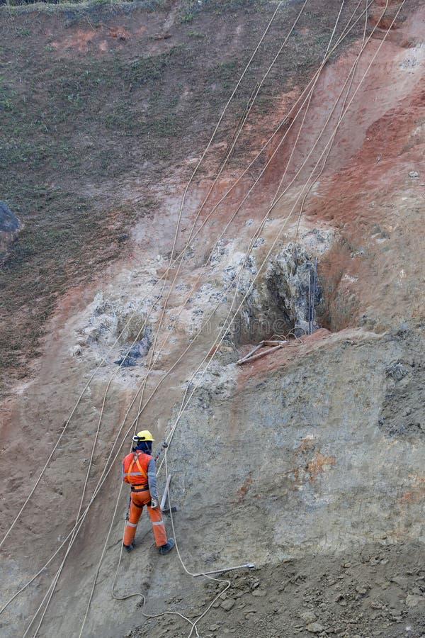 Ένωση εργαζομένων στο βράχο στοκ φωτογραφία με δικαίωμα ελεύθερης χρήσης