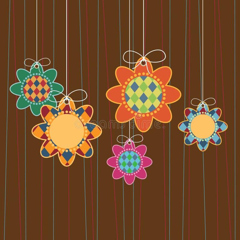 ένωση λουλουδιών διανυσματική απεικόνιση