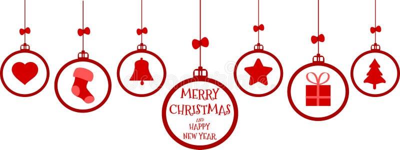Ένωση στοιχείων Χριστουγέννων στοκ εικόνες με δικαίωμα ελεύθερης χρήσης