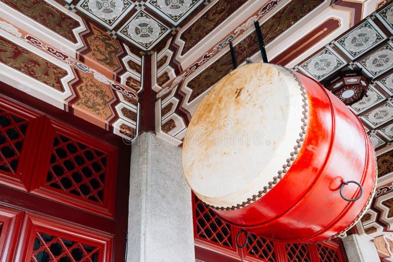 Ένωση του παλαιού εκλεκτής ποιότητας τυμπάνου στη λάρνακα μαρτύρων ` Taichung σε Taichung, Ταϊβάν στοκ εικόνες