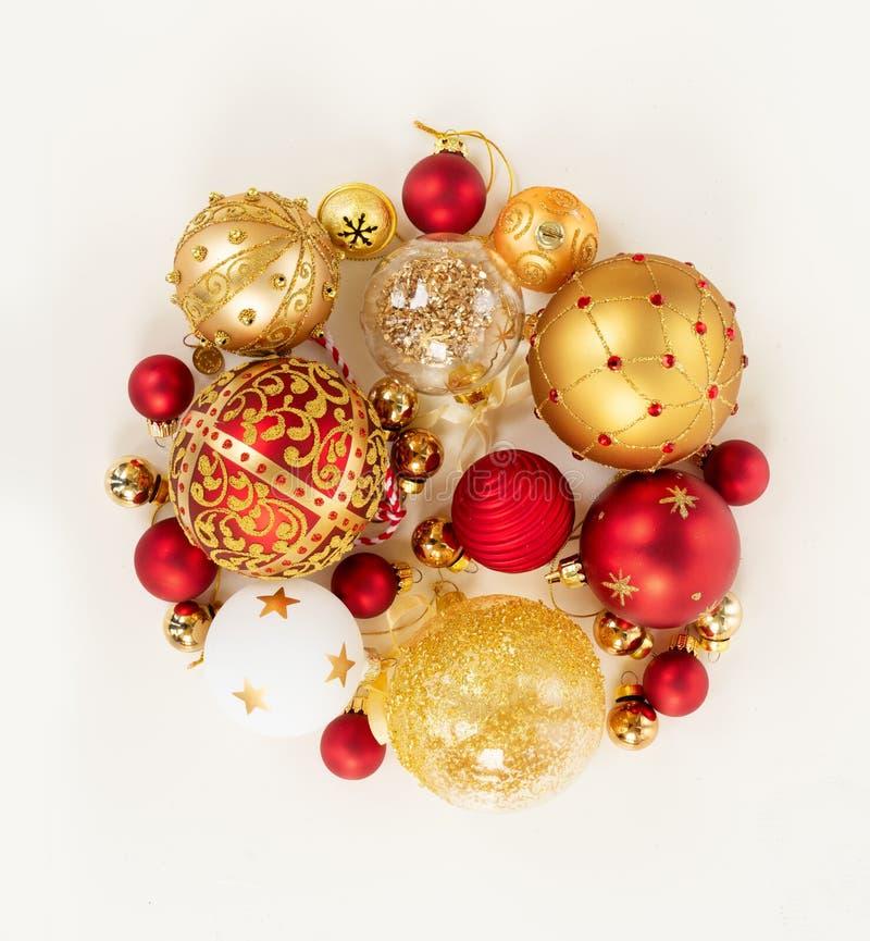 ένωση Χριστουγέννων σφαιρώ στοκ εικόνες με δικαίωμα ελεύθερης χρήσης
