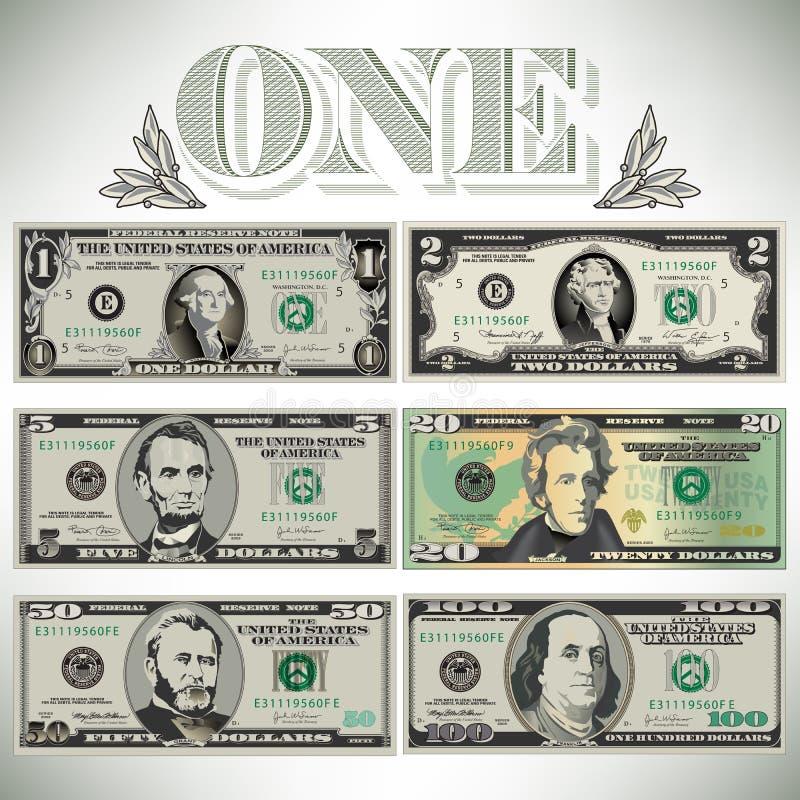 Έξι λεπτομερή, τυποποιημένα σχέδια των λογαριασμών απεικόνιση αποθεμάτων