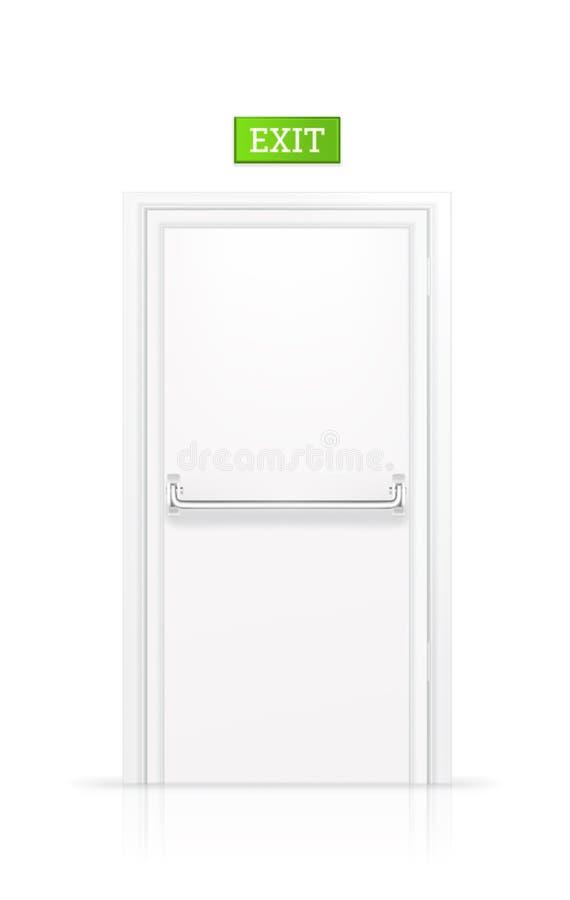 έξοδος πορτών διανυσματική απεικόνιση