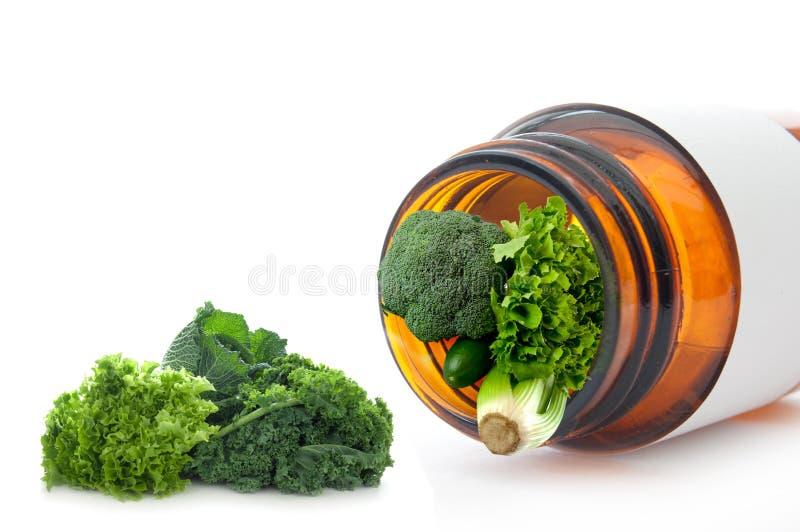 Έξοχη έννοια χαπιών βιταμινών στοκ φωτογραφία με δικαίωμα ελεύθερης χρήσης