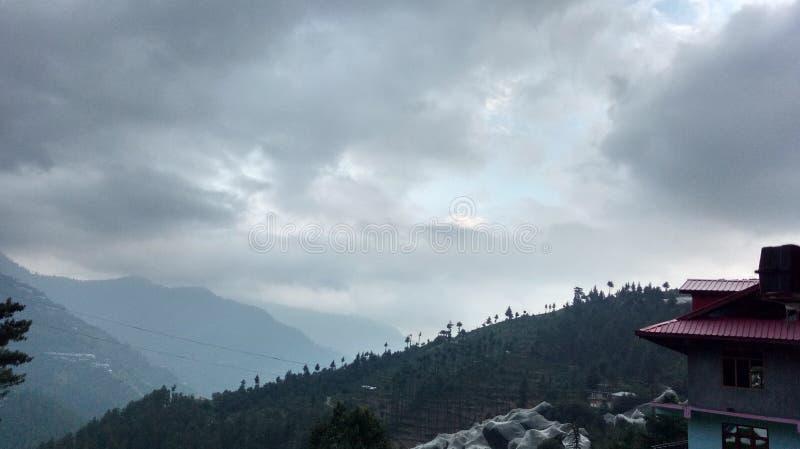 Έξοχοι ζαλίζοντας λόφοι Shimla απόψεων φύσης στοκ εικόνες με δικαίωμα ελεύθερης χρήσης