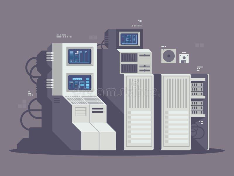 Έξοχος ισχυρός υπολογιστής απεικόνιση αποθεμάτων
