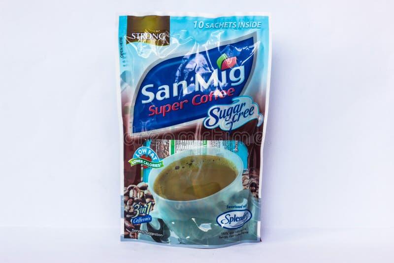 Έξοχος καφές SAN Mig στοκ εικόνες