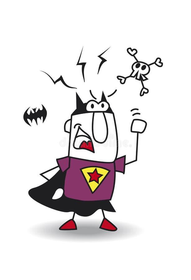 0 έξοχος batboy απεικόνιση αποθεμάτων