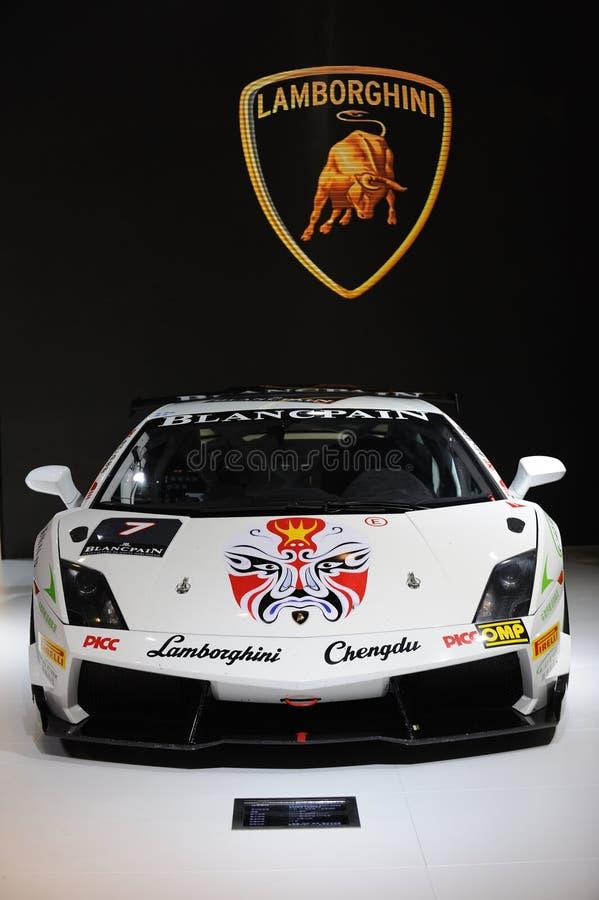 Έξοχο trofeo gallardo Lamborghini στοκ φωτογραφία